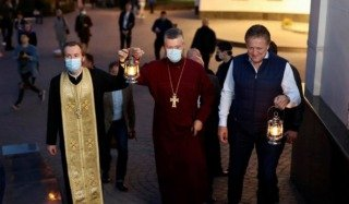 Drabinko was ahead of Epiphany? Published a photo of the OCU cleric with the Holy Fire