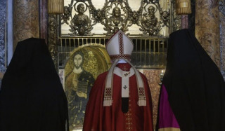 Why was the Primate of the Antiochian Church present at the Catholic Mass in Rome?