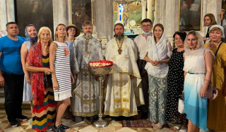 Priests of the UOC served in the Kerkir Metropolitanate of the Church of Greece