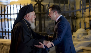 Phanar's acquisition of church property in Ukraine depends on the results of Zelensky's visit to Washington?