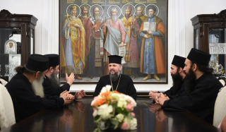 Dumenko was visited by representatives of the Athonite monasteries who supported the OCU