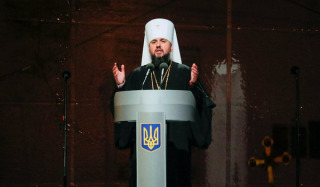 """All parishes in Ukraine belong to the OCU. Rejection of this is a """"canonical anomaly"""" – Epiphanius"""
