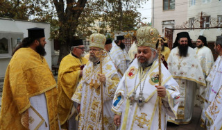 The hierarch of the UOC took part in the celebrations in honor of the 20th anniversary of the revival of the Dorostol Metropolis
